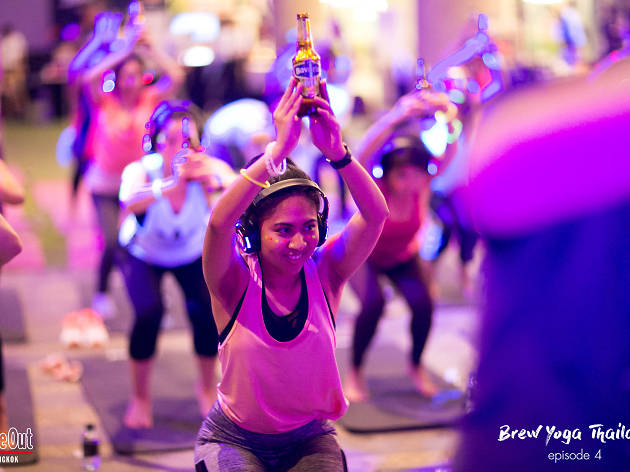Silent Brew Yoga