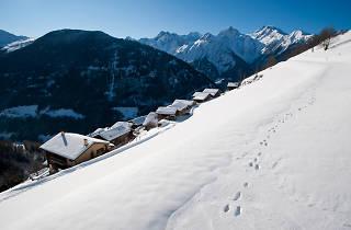 Montagne Alternative, Orsières, for Switzerland Tourism winter campaign
