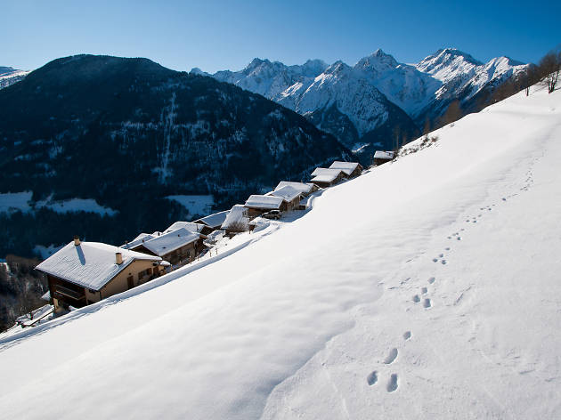 Montagne Alternative, Orsières, for Switzerland Tourism winter campaign