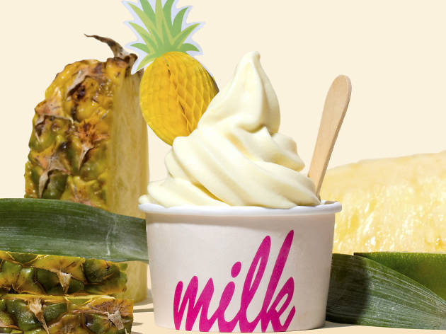 Christina Tosi Dole Whip Pineapple Fo Sho at Milk Bar Los Angeles
