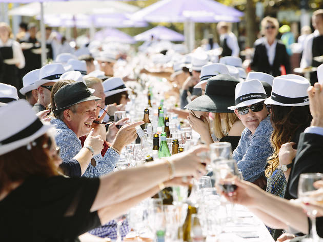 Melbourne Food and Wine Festival Longest Lunch