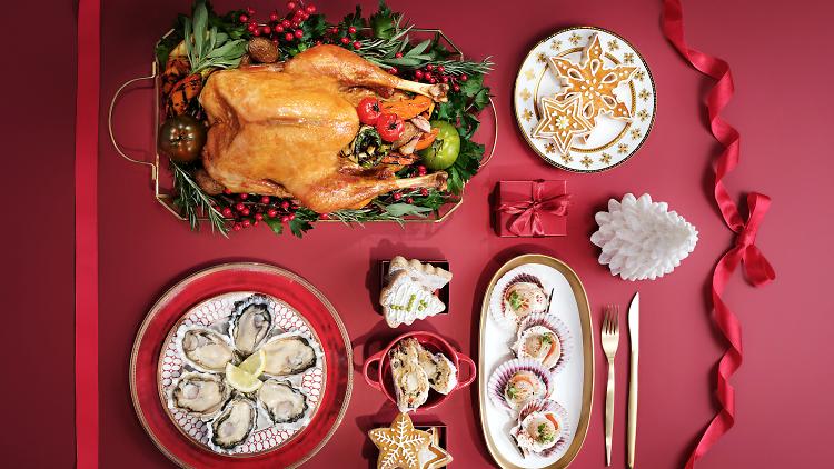 Sheraton Hong Kong Hotel Christmas Buffet