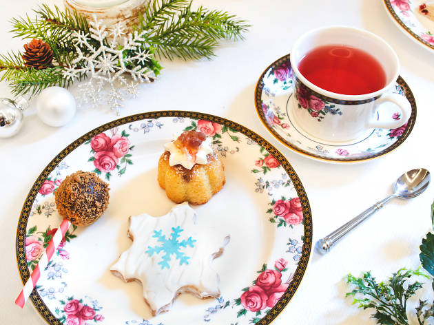 The Langham Snowflake Tea