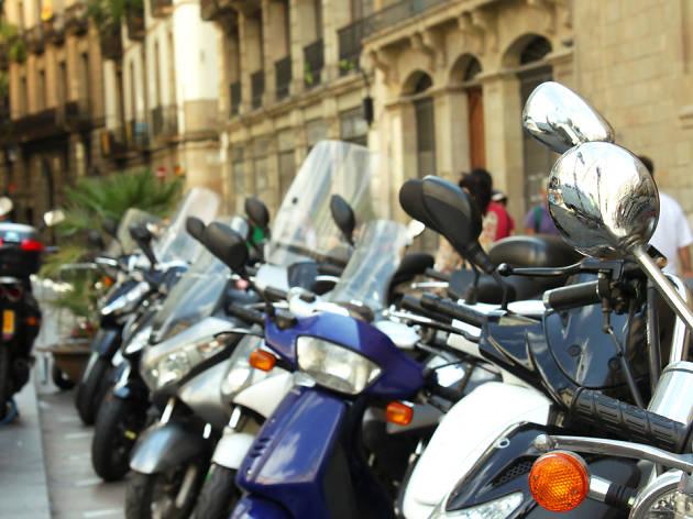 Motos a Barcelona