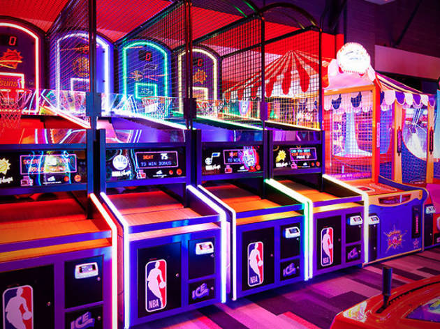 Kid-Friendly Arcades in NYC for Pac-Man, Pinball and More
