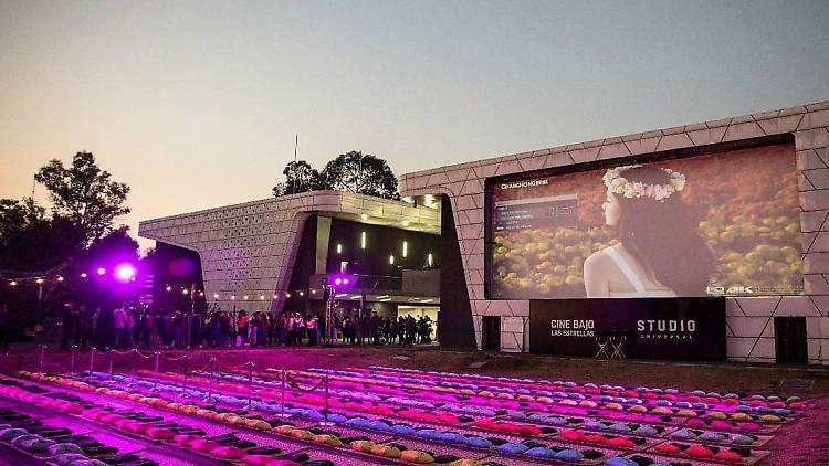 Cine bajo las estrellas en la Cineteca Nacional