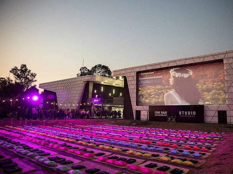 Cine al aire libre en la Cineteca Nacional