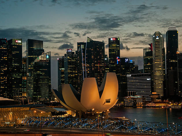 Where to see interesting architecture and landmarks in Singapore