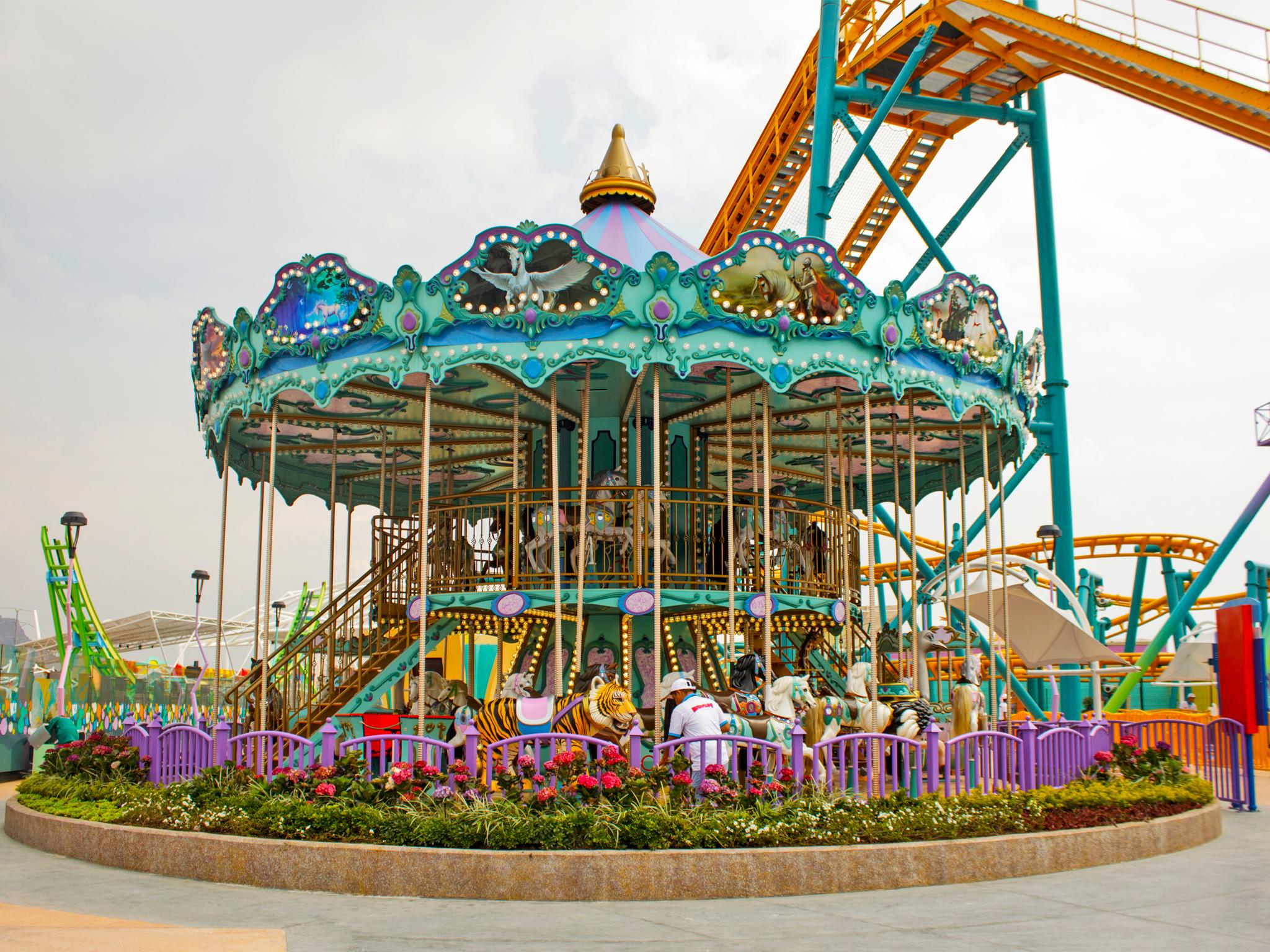 Kataplum, el nuevo parque de diversiones en la CDMX