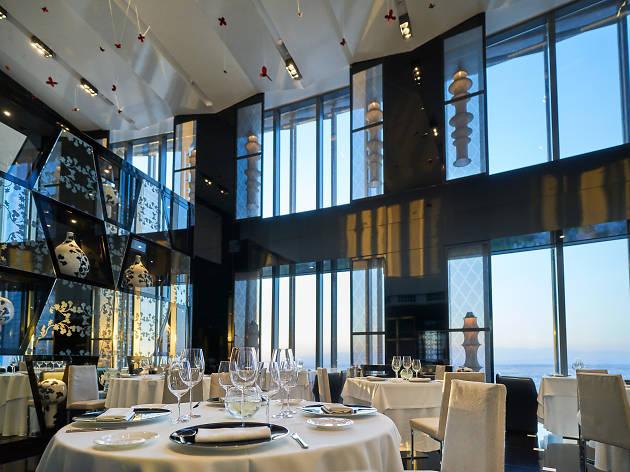 Restaurant de l'Hotel Eurostars Madrid Tower