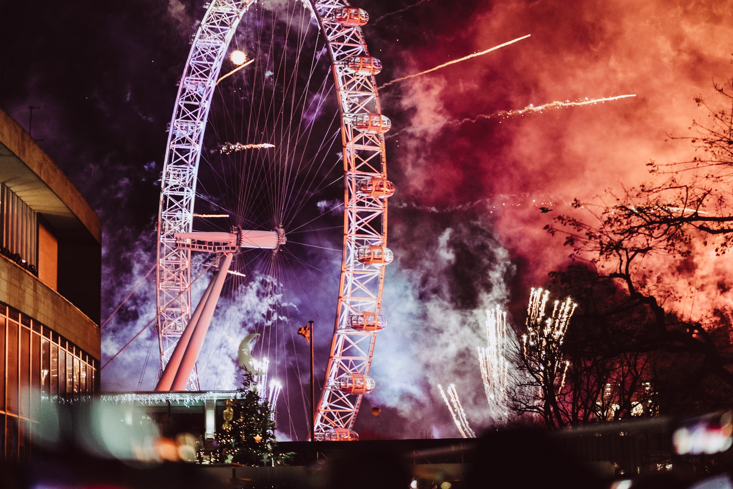 Southbank Centre, New year's eve