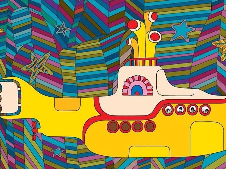 'Yellow submarine' (1968), de George Dunning