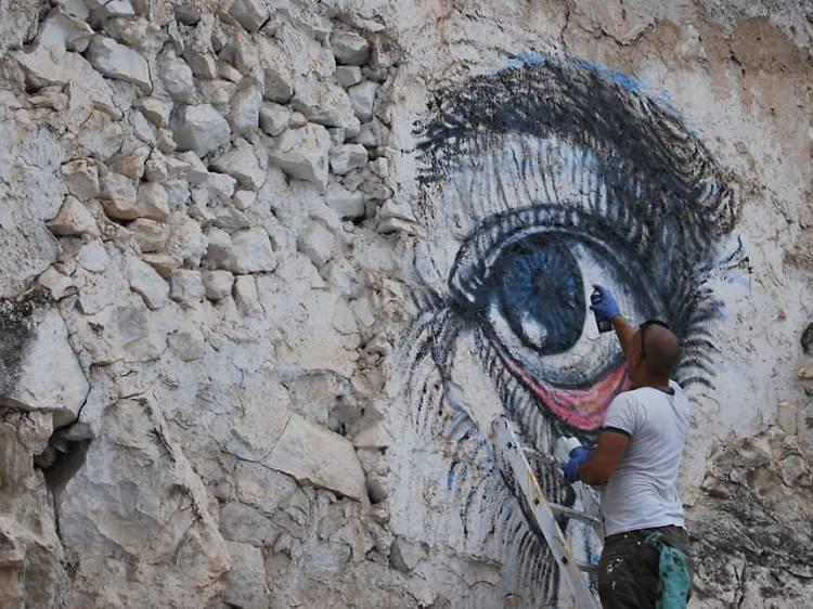 Art per atreure el turisme com a Cárcheles