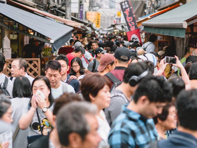 Sense por dels canvis, com a Tòquio