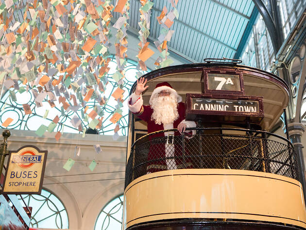 Christmas at London Transport Museum