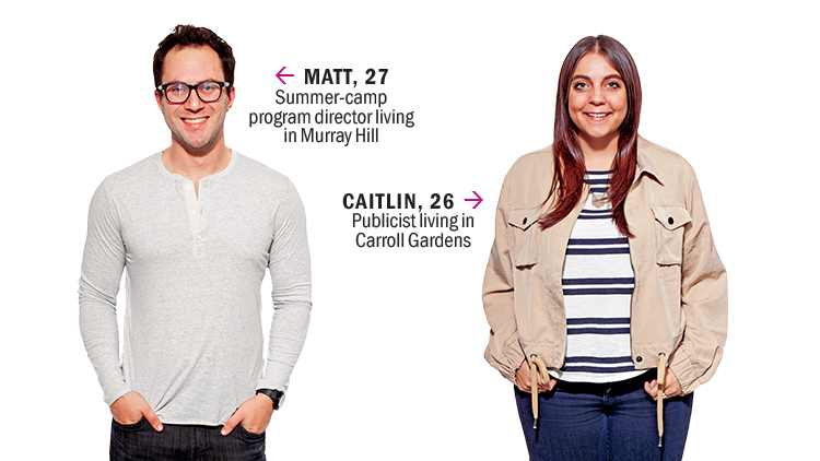 Matt and Caitlin