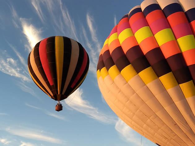 Viaja en globo aerostático y enamórate de Zacatecas