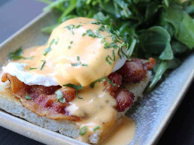 Brunch at Jame Enoteca restaurant in El Segundo