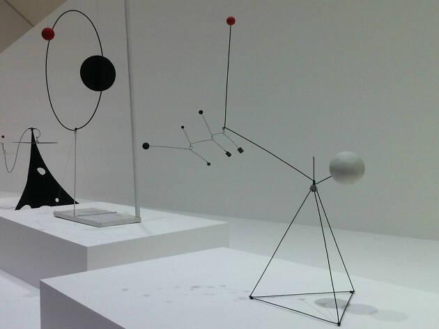 Exposición de Alexander Calder en el Museo Jumex