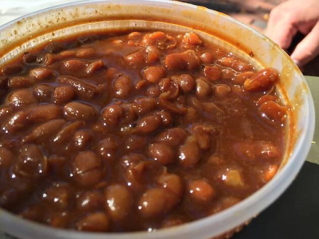 Boston baked beans, durgin park