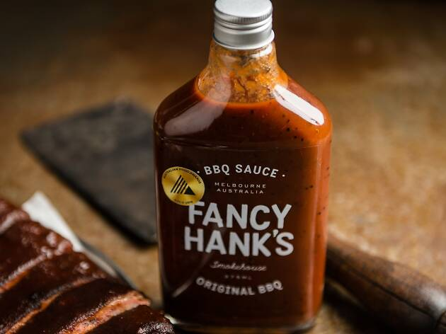 Fancy Hank's barbecue sauce