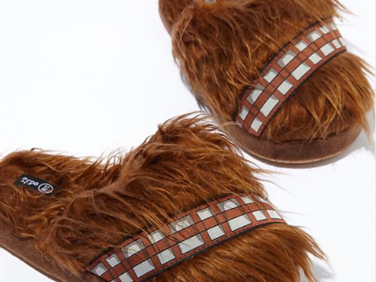 Chewbacca slippers from Typo