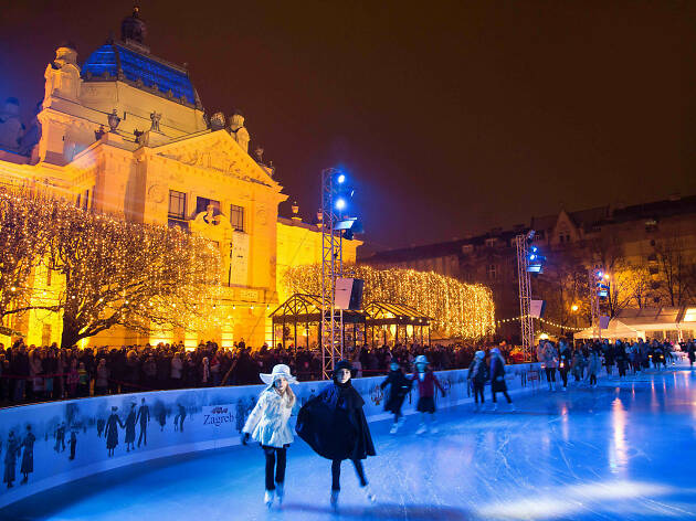 Advent at Tomislav Square