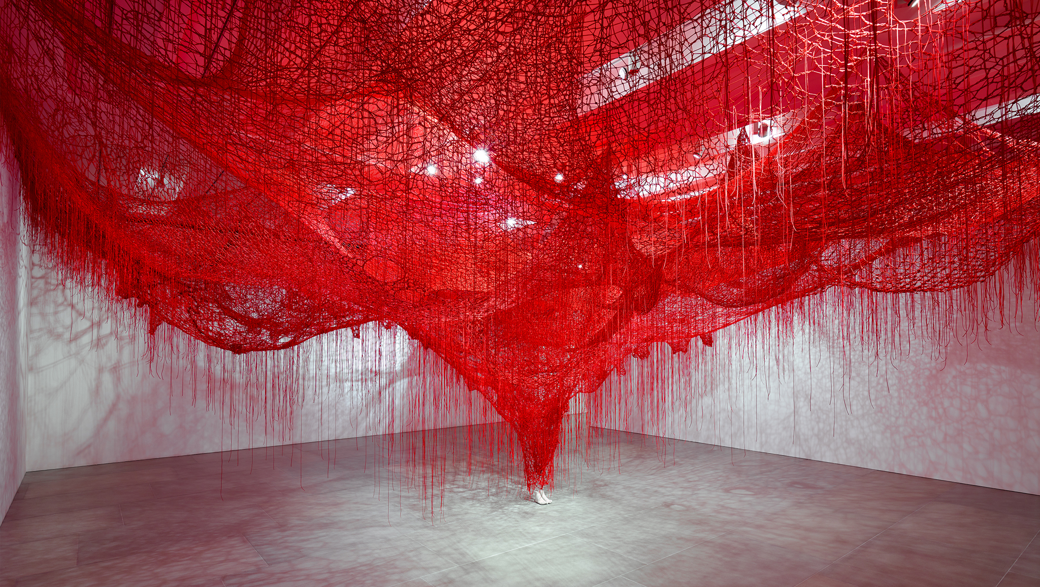 Chiharu Shiota: 'Me Somewhere Else'