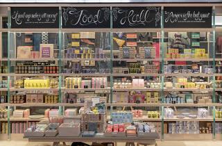 V&A Shop Food Hall, 1st November 2018