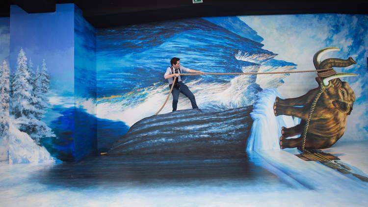 Museo Trick Eye México, el primer museo de realidad aumentada en México y tecnologia 3d