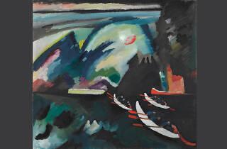 Pintura del mes. El lago de Kandinsky