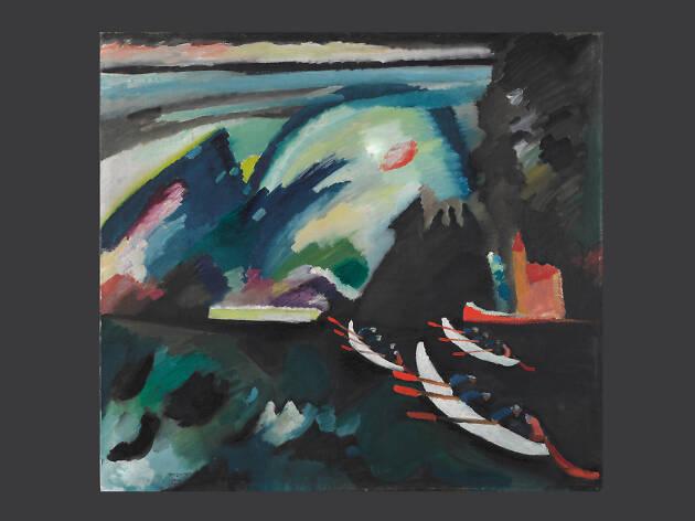 PINTURA DEL MES: El lago (1910), Kandinsky