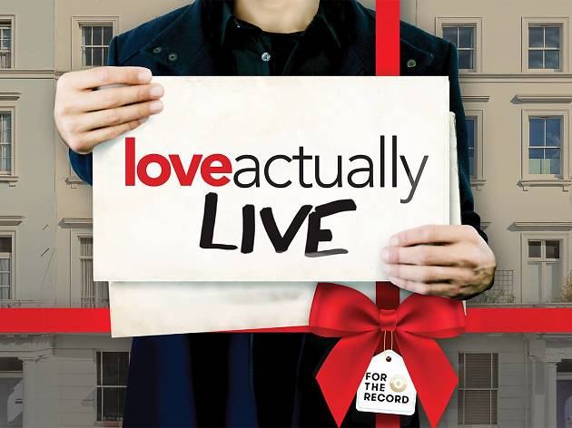 Love Actually Live stage show in Beverly Hills Los Angeles