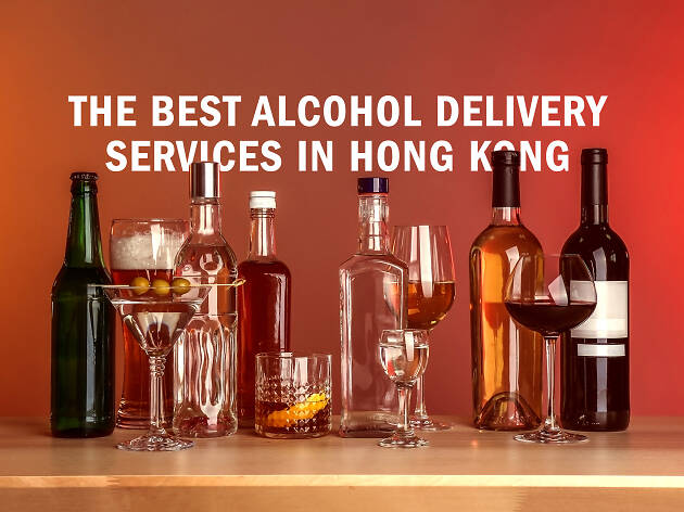 Best alcohol delivery services in Hong Kong