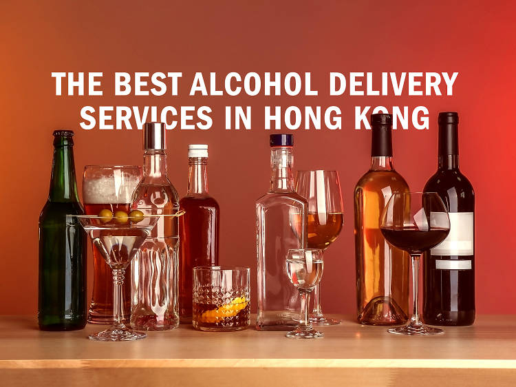 The best alcohol delivery services in Hong Kong