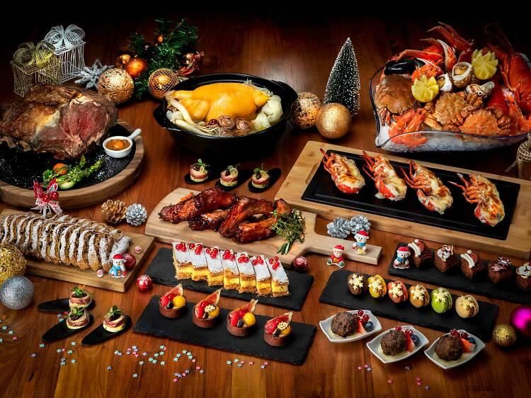 Enjoy a hearty buffet at Café East