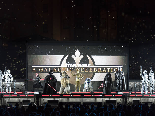 Do not reuse. Star Wars: A Galactic Celebration - Disneyland Paris, Legends of the Force campaign.