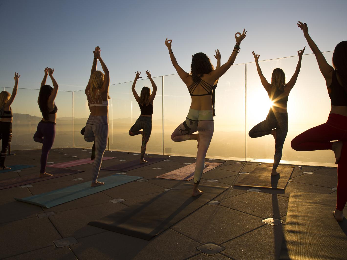 2 Skyspace yoga