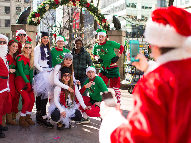 Exclusive: Here's the official venue list for SantaCon 2018 in NYC