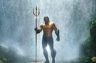 Aquaman llega al cine