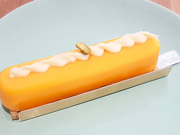 A mango pastry