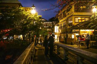 箱根  夜