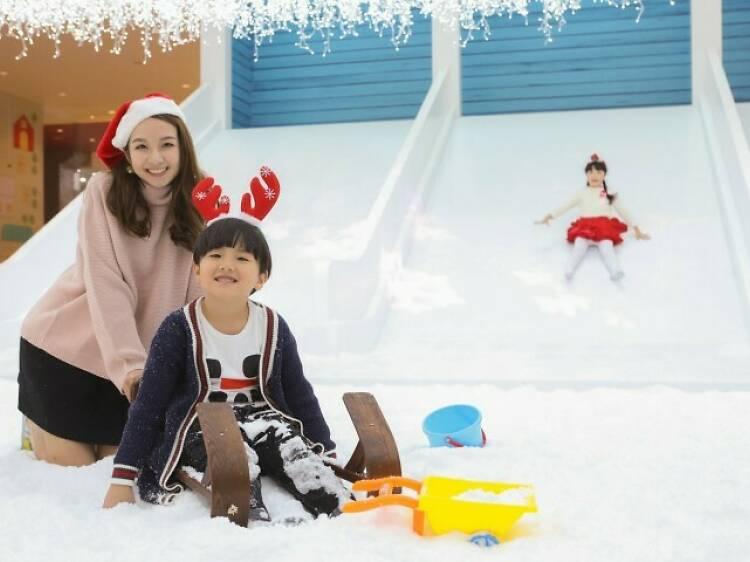 愉景新城:聖誕水晶冰屋