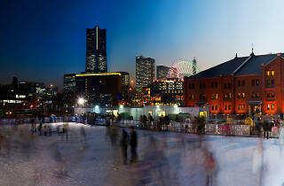 Yokohama Red Brick Warehouse Art Rink - PR shot
