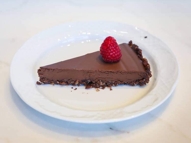 """""""A"""" Tarte de chocolate"""