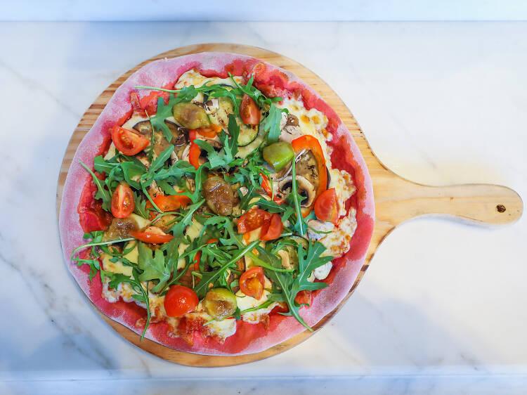 Pizza mediterrânica