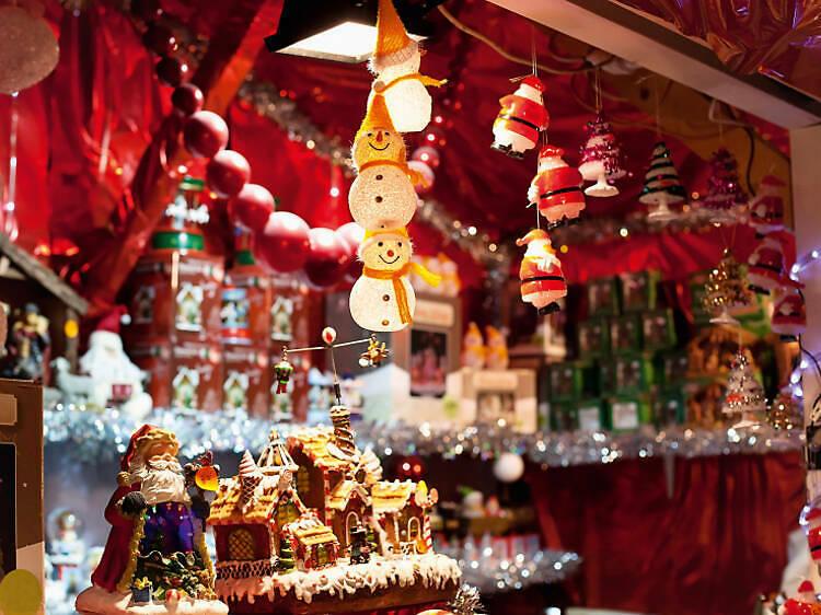 Les meilleurs marchés de Noël de Paris