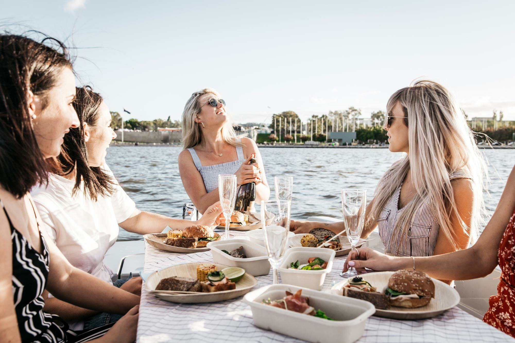 Soon you'll be able to picnic on the Yarra when GoBoat launches this summer