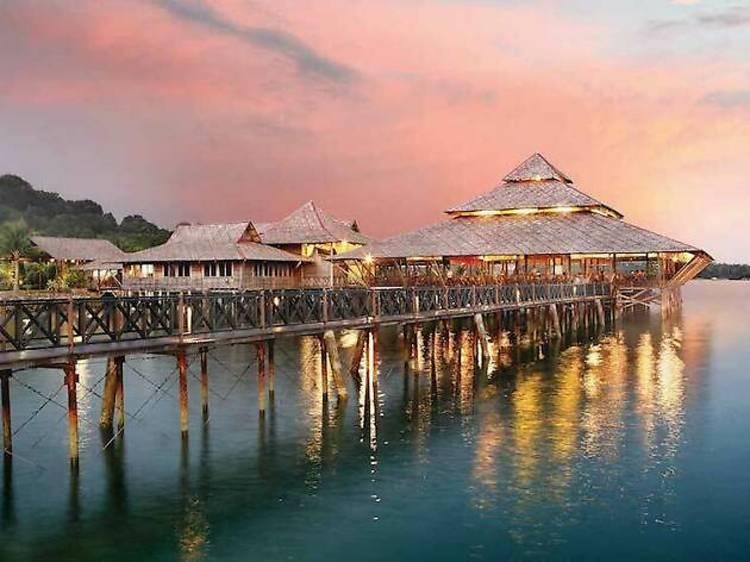 The Kelong Seafood Restaurant
