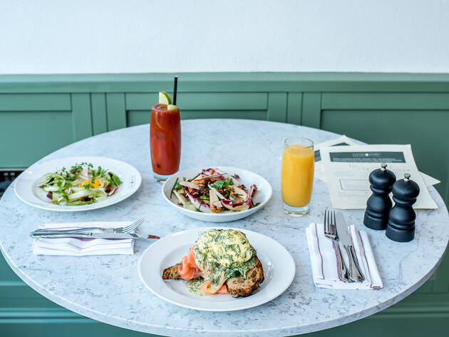 60% off a festive bottomless brunch at Fayre Share